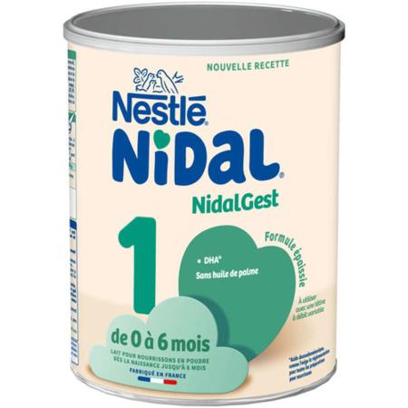 Lait NidalGest 1 800g NIDAL NESTLE 1