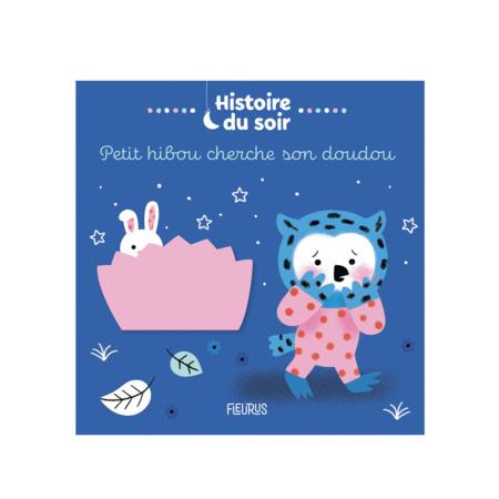 Livre Petit Hibou cherche son doudou FLEURUS 1