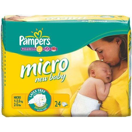 Couches New Baby PAMPERS 3