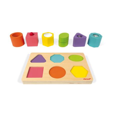 Puzzle 6 cubes JANOD 1
