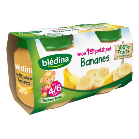 Mon 1er Petit Pot Bananes 2x130g 1