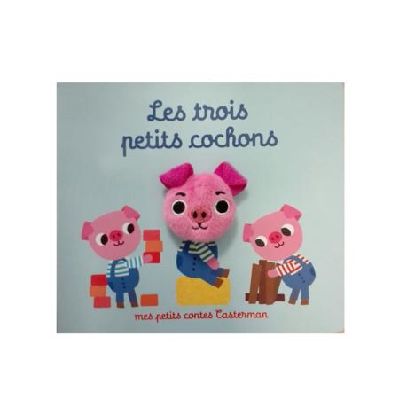 Livre marionnette Les trois petits cochons CASTERMAN 1