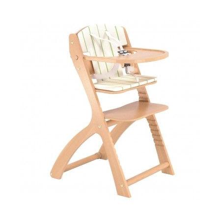 Chaise haute évolutive avec coussin BEBE 9 1