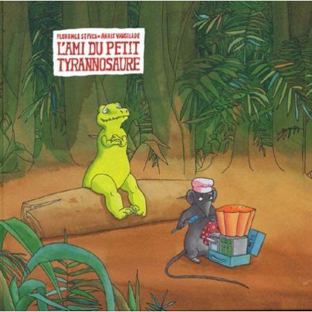 Livre L'Ami du petit tyranosaure 1