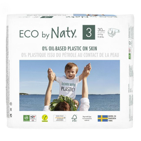 Couches Naty écologiques NATURE BABYCARE 7