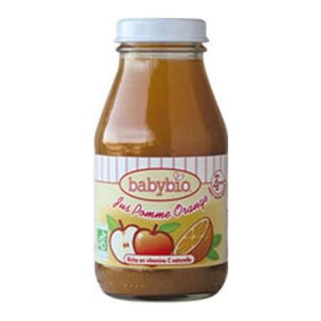 BIO Jus Pommes-Oranges 20 cl dès 4mois BABYBIO 1