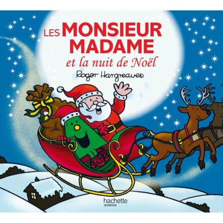 Les Monsieur Madame et la nuit de Noël HACHETTE JEUNESSE 1