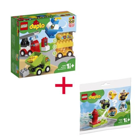 Lot  Mes premiers véhicules et 1 sachet sauvetage - DUPLO LEGO 1