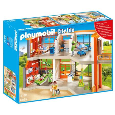 Playmobil City Life - Hôpital pédiatrique aménagé PLAYMOBIL 1