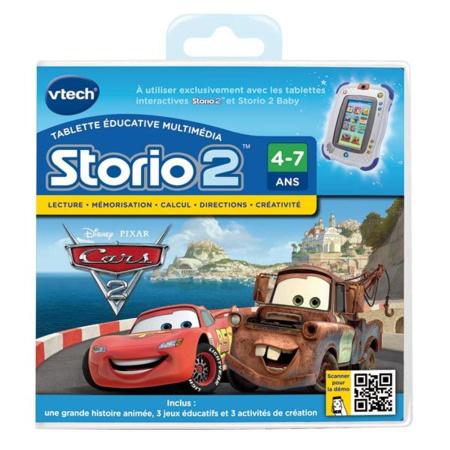 Jeu éducatif Storio 2 : Cars 2 VTECH 1
