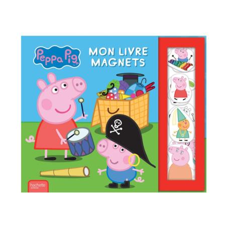 Mon livre magnets Peppa Pig HACHETTE JEUNESSE 1