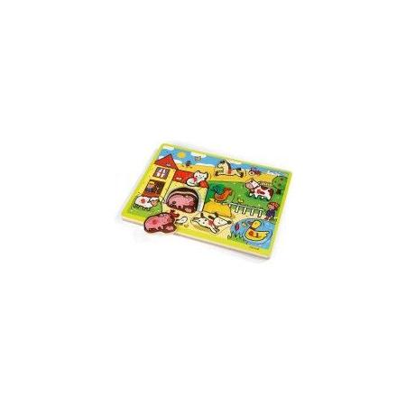 Puzzle musical ferme JANOD 1
