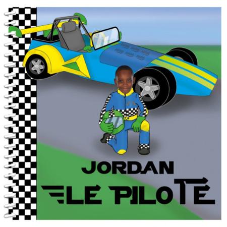 Livre personnalisé pour enfant et sa famille : Pilote de course MON LIVRE PERSONNALISABLE 1