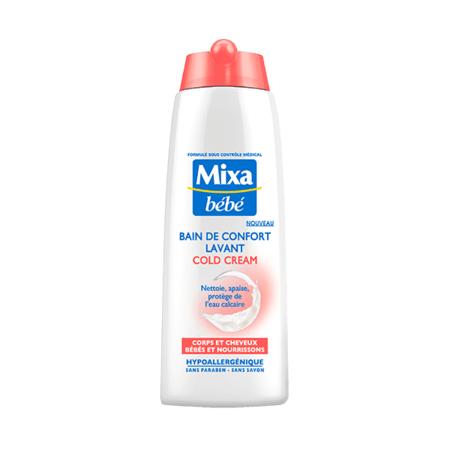 Bain de confort lavant cold cream MIXA BEBE 1