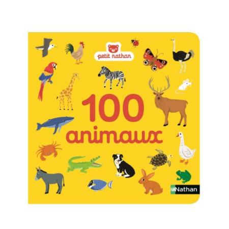 Livre 100 animaux NATHAN 1