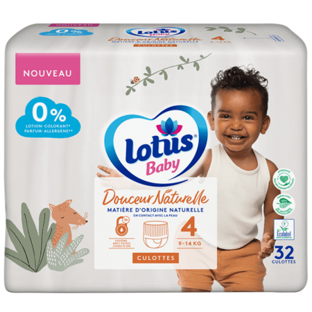 Couches culottes Douceur Naturelle LOTUS BABY 1