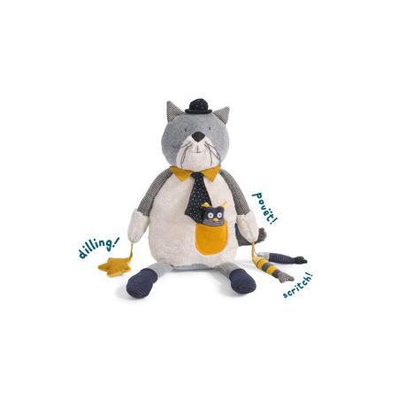 Les Moustaches chat d'activités MOULIN ROTY 1