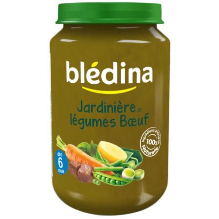 Pot Jardinière de légumes Bœuf 2x200g BLEDINA 2