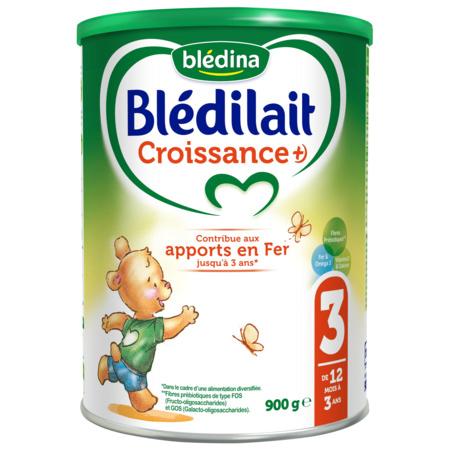 Lait Blédilait Croissance +) 900g BLEDINA 1