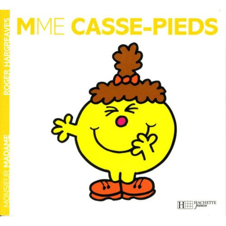 Livre Madame Casse pieds HACHETTE JEUNESSE 1
