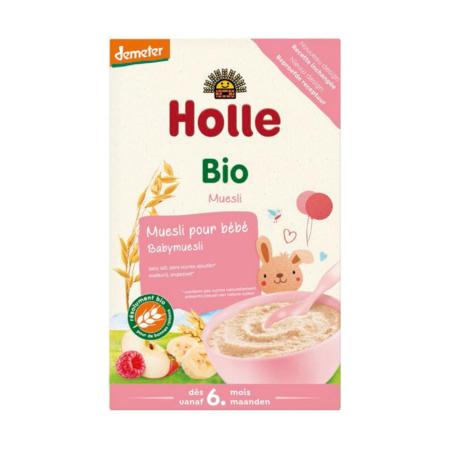 Bouillie de muesli pour bébé HOLLE 1