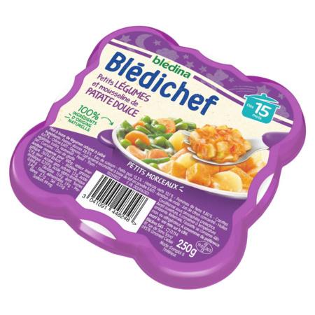 BLEDICHEF Petits légumes et mousseline de patate douce BLEDINA 2