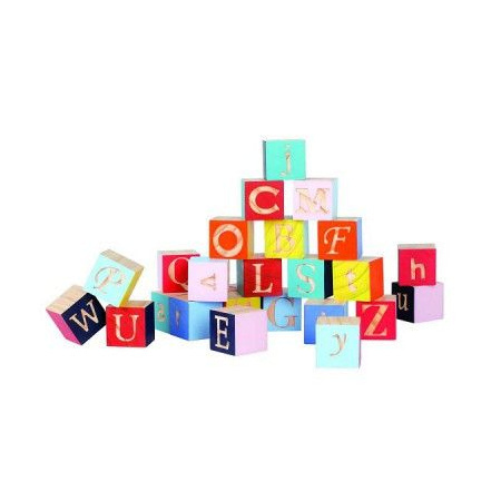 Cubes Kubix : alphabet lettres JANOD 1