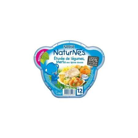 Naturnes Etuvée Merlu aux épices NESTLÉ 1