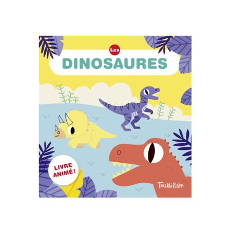 Livre Les dinosaures animousse EDITIONS TOURBILLON 1