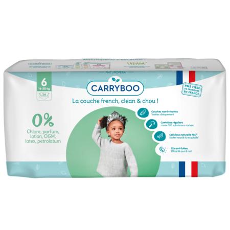 Couches écologiques dermo-sensitives CARRYBOO 12