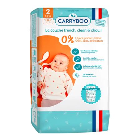 Couches écologiques dermo-sensitives CARRYBOO 3