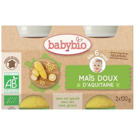 Petit pot maïs doux BABYBIO 1