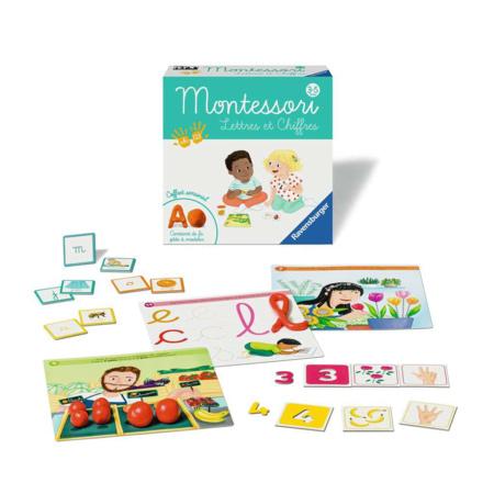 Montessori - Lettres et chiffres RAVENSBURGER 1