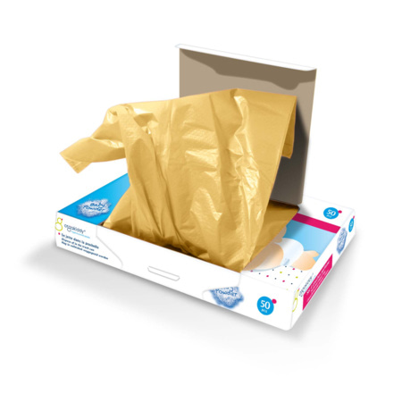 Sacs à couches parfumés au talc (x50) ORGAKIDDY 2