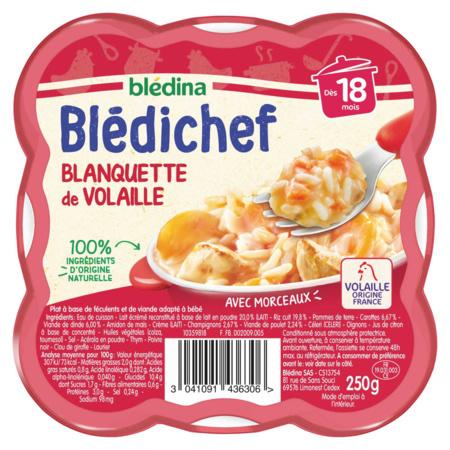 BLEDICHEF Blanquette de volaille BLEDINA 1