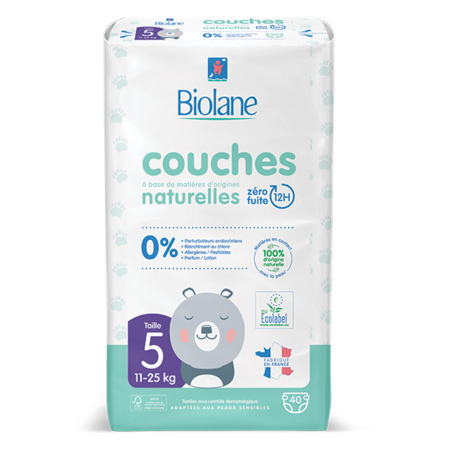 Couches Eco-responsables BIOLANE 5