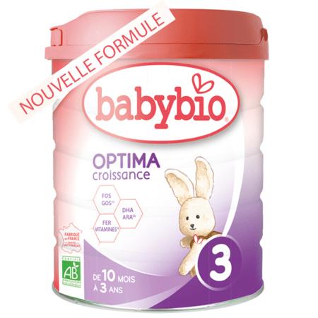 Lait Optima 3 BABYBIO 1