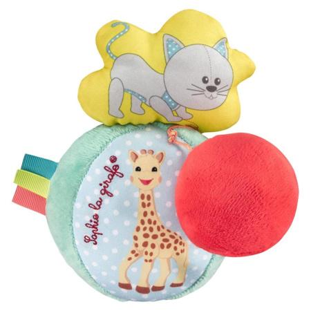 Balle vibrante et sonore Sophie la girafe VULLI 1