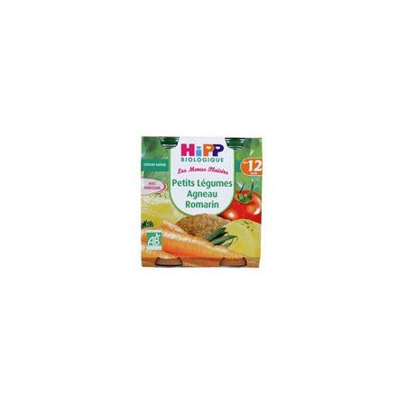 Petits légumes agneau romarin 250 g dès 12 mois HIPP 1