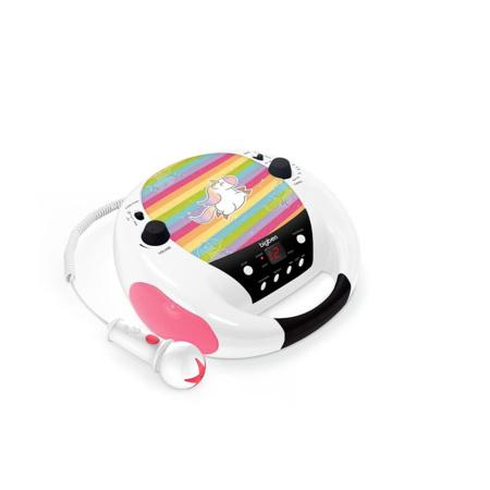 Lecteur radio/CD portable avec micro - Big Ben - 1