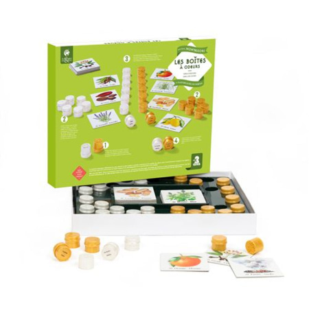 Les boîtes à odeurs Montessori NATURE & DECOUVERTES 1