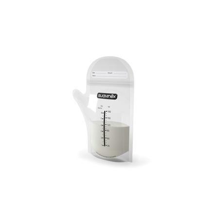Sachets de stockage lait maternel Suavinex 1