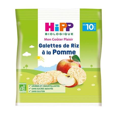 Galettes de Riz à la Pomme - sachet 30g -10 mois HIPP 1