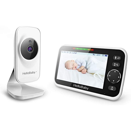 Babyphone vidéo HB50 avec communication bidirectionnelle HELLOBABY 1