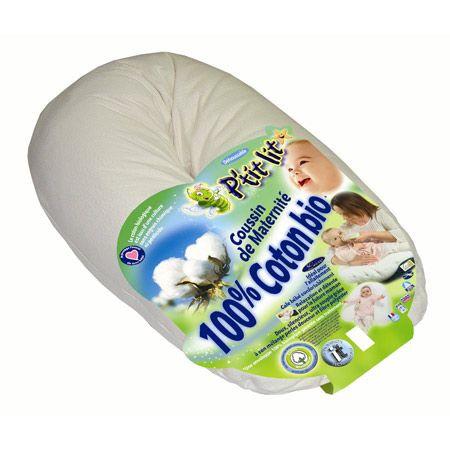 Coussin de maternité 100% coton Bio P'TIT LIT 1
