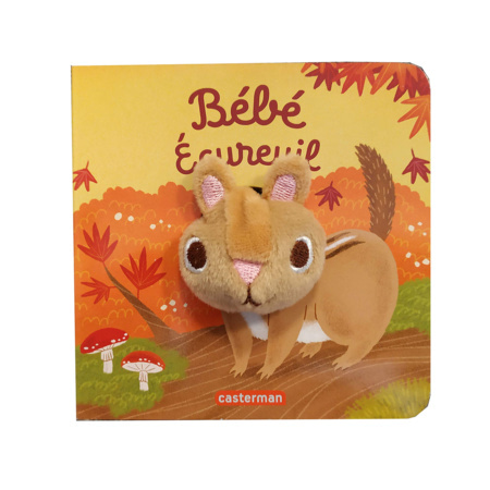 Livre Bébé écureuil CASTERMAN 1