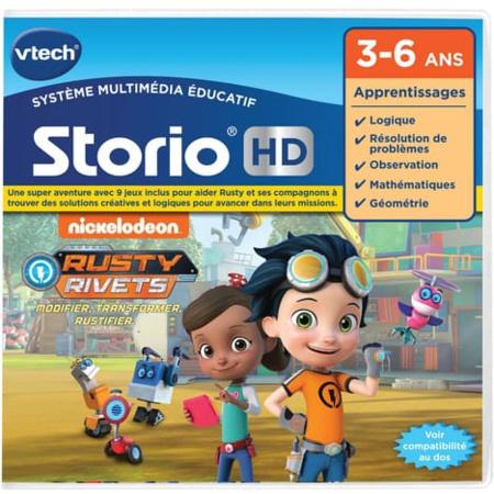 Storio - Jeu éducatif Rusty Rivets VTECH 1