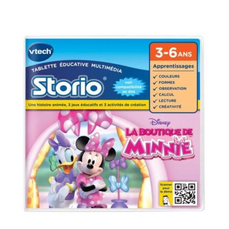 Storio - Jeu éducatif  La Boutique de Minnie VTECH 1