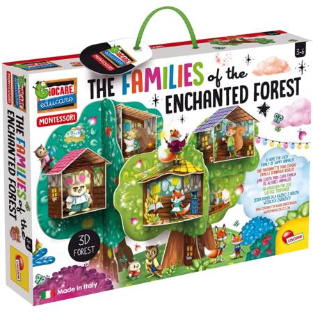 Montessori - Les Familles de la Forêt Enchantée LISCIANI 1