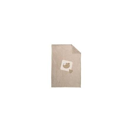 Plaid pour lit 105 x 146 cm bb tradition CANDIDE 1